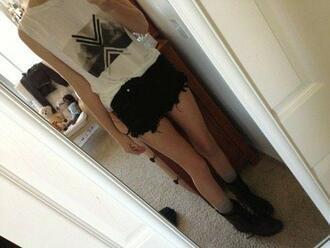 t-shirt swag girl acacia brinley shoes shorts