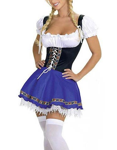 Beer Girl Festival French Maid Dresses - Juicy Wardrobe