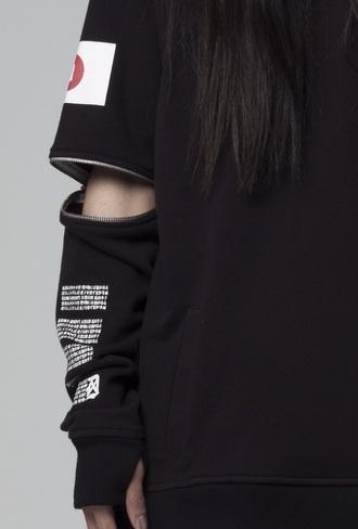 jacket black t-shirt tumblr outfit tumblr shirt cotton cute sweaters