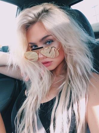 sunglasses gold glasses summer