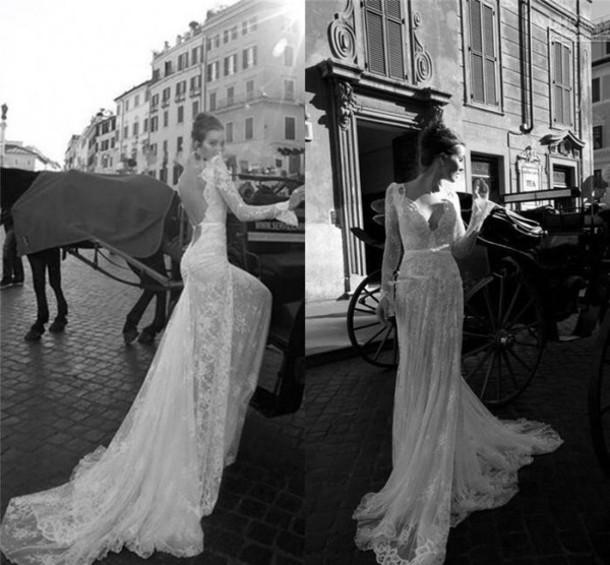 dress backless wedding dresss