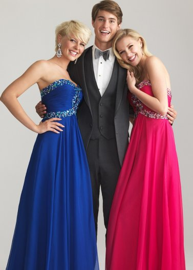 Royal Ruched Strapless Rhinestone Sweetheart Night Moves 6642 Dress [Night Moves 6642 Royal] - $175.00 : Prom Dresses 2014 Sale, 70% off Dresses for Prom