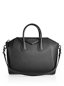 7abd61a1dd28 Givenchy - Antigona Medium Leather Satchel - Saks Fifth Avenue Mobile