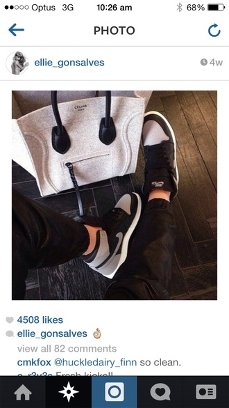 bag shoes celine bag white celine paris white and grey grey celine nike nike air force 1 sportswear