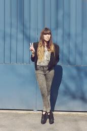 fringe and frange,jacket,shoes,tank top,t-shirt,jeans