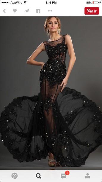 dress black dress prom dress evening dress