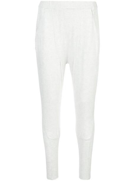 Thomas Wylde - Wink trousers - women - Rayon/Spandex/Elastane - M, Grey, Rayon/Spandex/Elastane