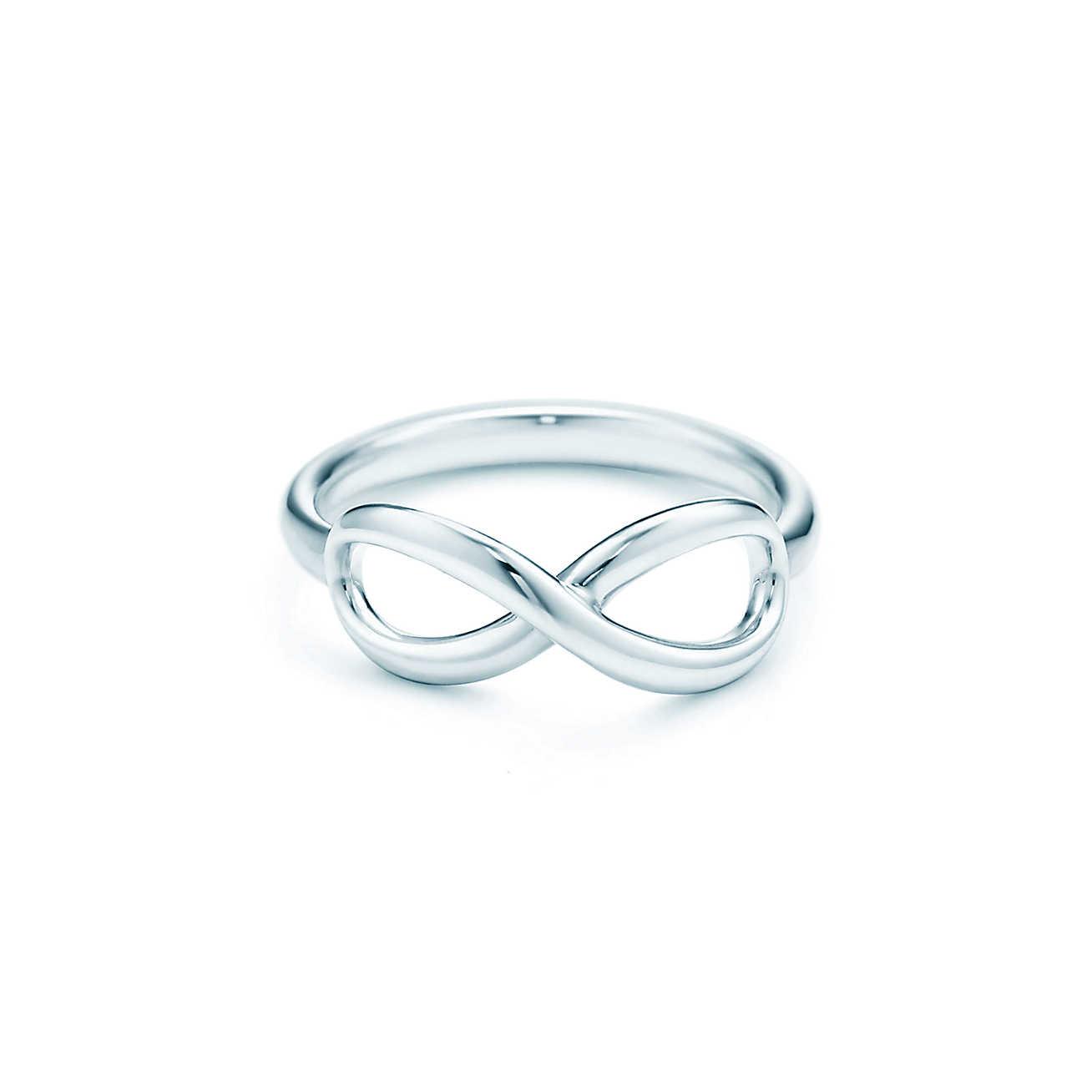 60da551ec Tiffany Infinity sterling silver ring | Tiffany & Co.