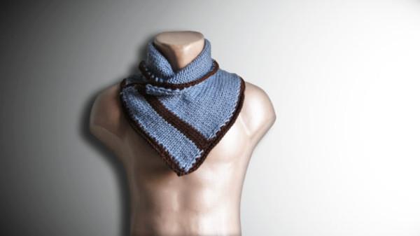 scarf mens scarf men chunky chunky scarf scarves blue neckwarmer menswear menswear neckwarmer