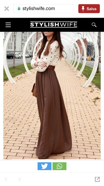 skirt long skirt maxi skirt