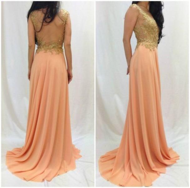 dress, prom dress, open back dresses, open back, long open back prom ...