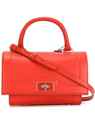 shark red bag