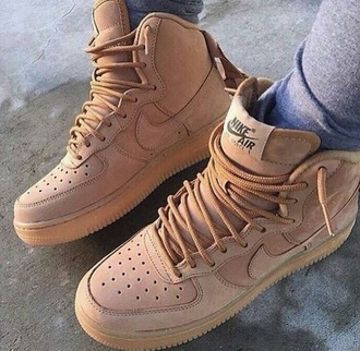 shoes nike nike shoes sneakers nike sneakers brown leather boots