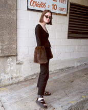 top,black sandals,tumblr,blogger,double3xposure,black top,jeans,denim,black jeans,sandals,all black everything