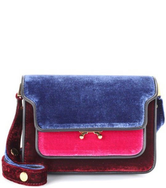 MARNI mini bag shoulder bag velvet