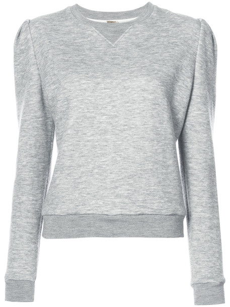 Adam Lippes sweatshirt women grey sweater
