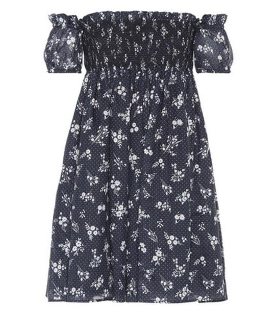 Miu Miu blue dress