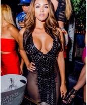 dress,mesh dress,black dress,low cut dress,cute dress,little black dress,bodycon,bodycon dress,bandage dress,sexy party dresses,black sexy dress,party dress,bandage,print,short dress,jennifer lopez