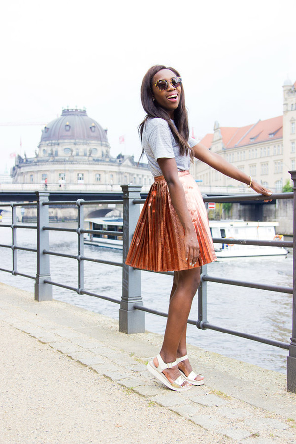 i want you to know t-shirt skirt shoes bag jewels nail polish