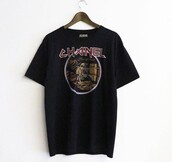 shirt,iron maiden,chanel t-shirt,black,chanel,fashion,kanye west