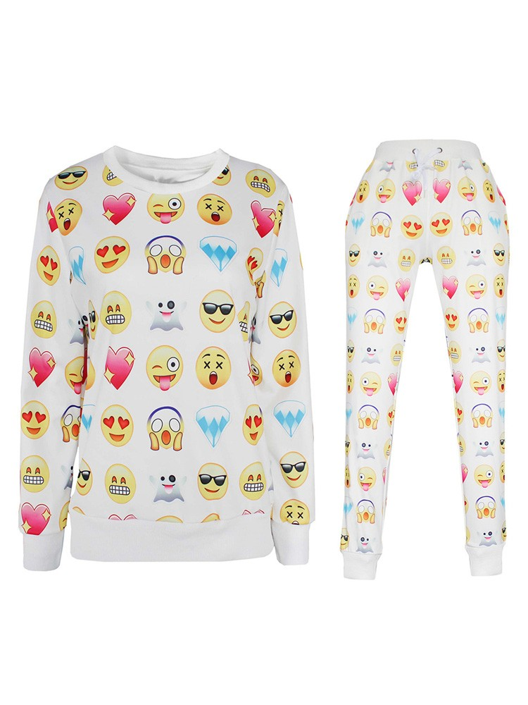 Emoji Clothings Set Online Sale Emoji Joggers Men Women