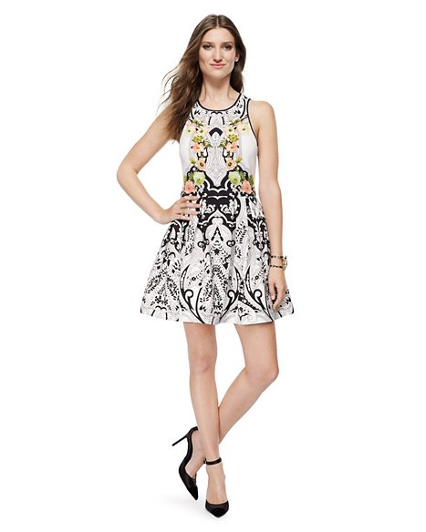 Deco Print Dress - Dresses - Juicy Couture
