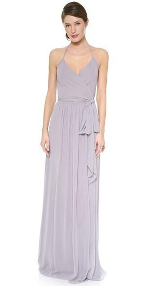 dress wrap dress silver