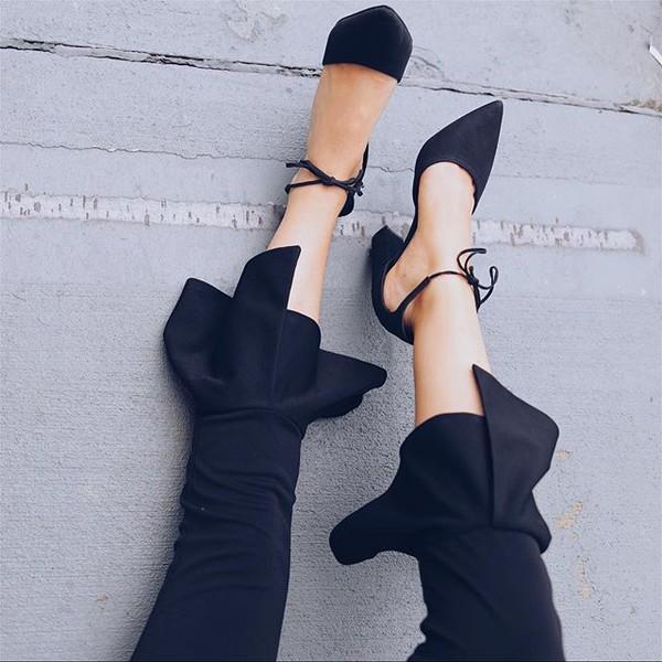 shoes amazing lace black heels tie heels closed toe heels pointed toe heels dressy black heels cute black heels trendy black heels