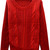 ROMWE | Hollow Red Striped Jumper, The Latest Street Fashion