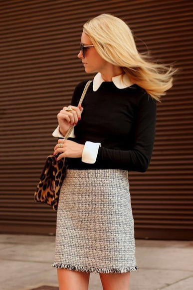 skirt brown skirt fall outfits fall skirt