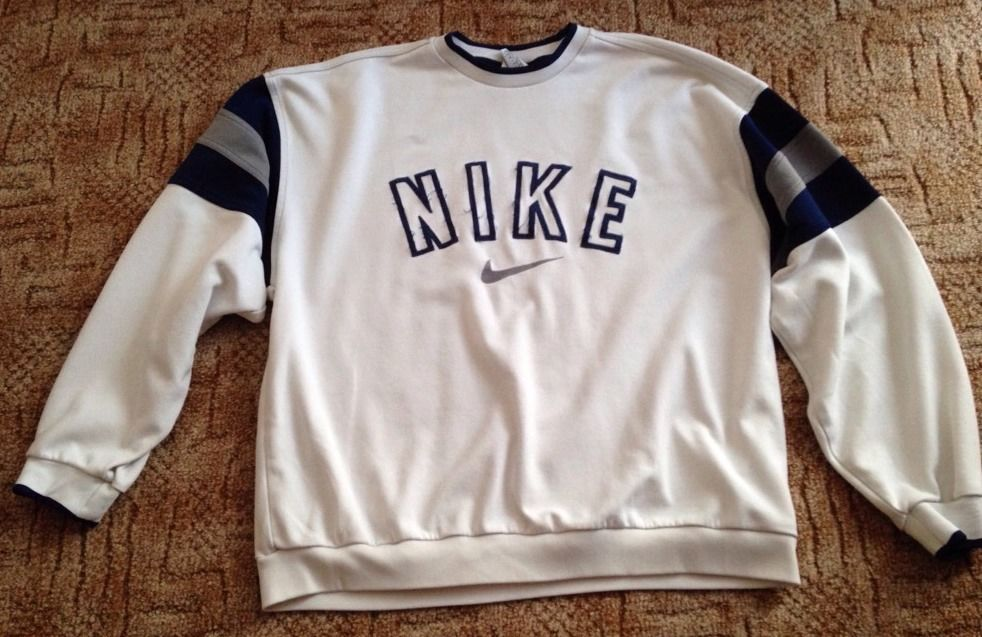 White Nike Jumper | eBay