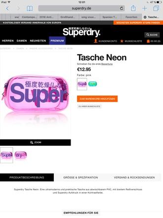 bag superdry pencilcase pencil case superdry amazon pink pencilcase superdry bag