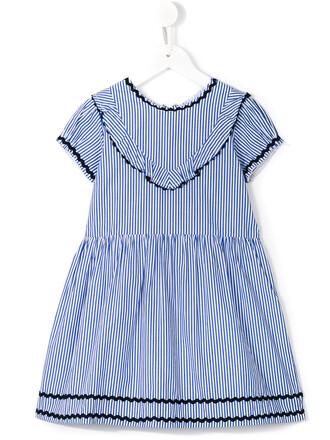dress girl toddler blue