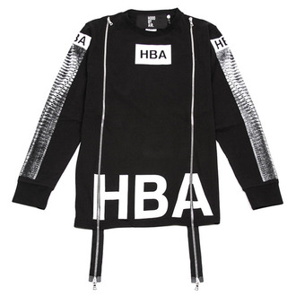 sweater fashion hba been trill kanye west hood by air menswear double zipper