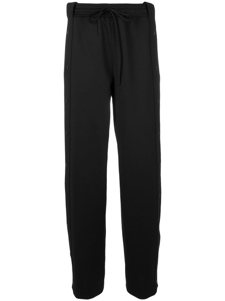 pants track pants women spandex black