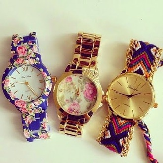 jewels watches floral watches