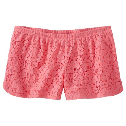 Xhilaration® Juniors Lace Shorts - Assorted ... : Target