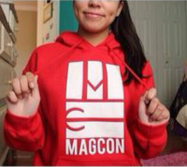 sweater magcon hoodie