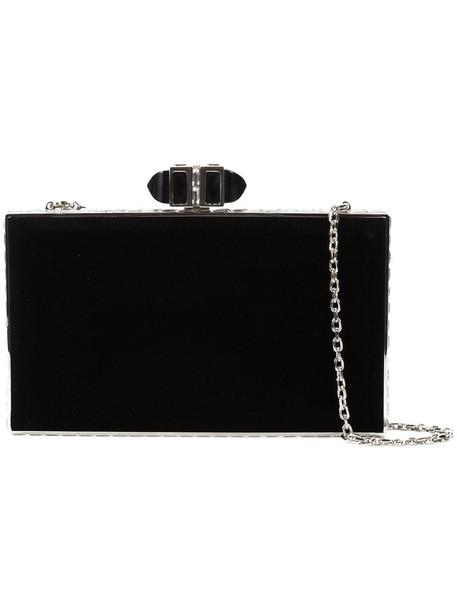 Judith Leiber Couture women bag black velvet