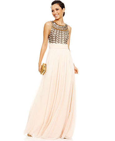 Prom 2014 Vintage Muse Beaded Gown Look - 2.11.14 Prom Sitelet - Macy's