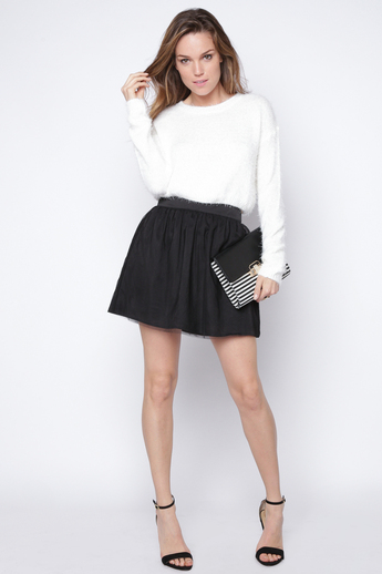 Free bella black skirt