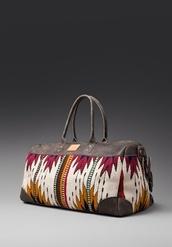 bag,aztec,navajo,weekend bag,carry on