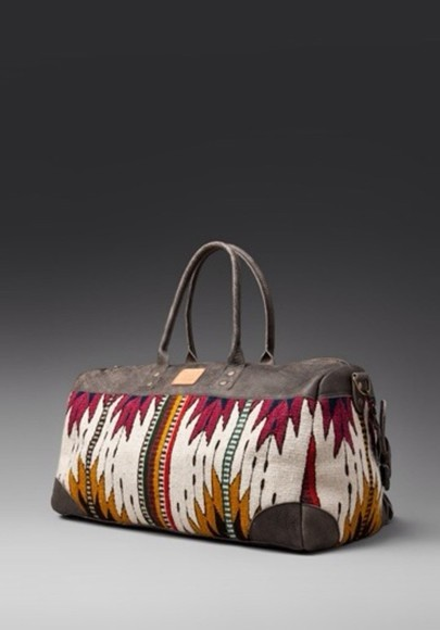 bag aztec navajo weekend bag carry on
