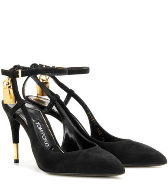 Tom Ford suede pumps pumps suede black shoes