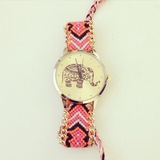 jewels watch elephant elephants elephant watch threads vogue hipster hipster watch