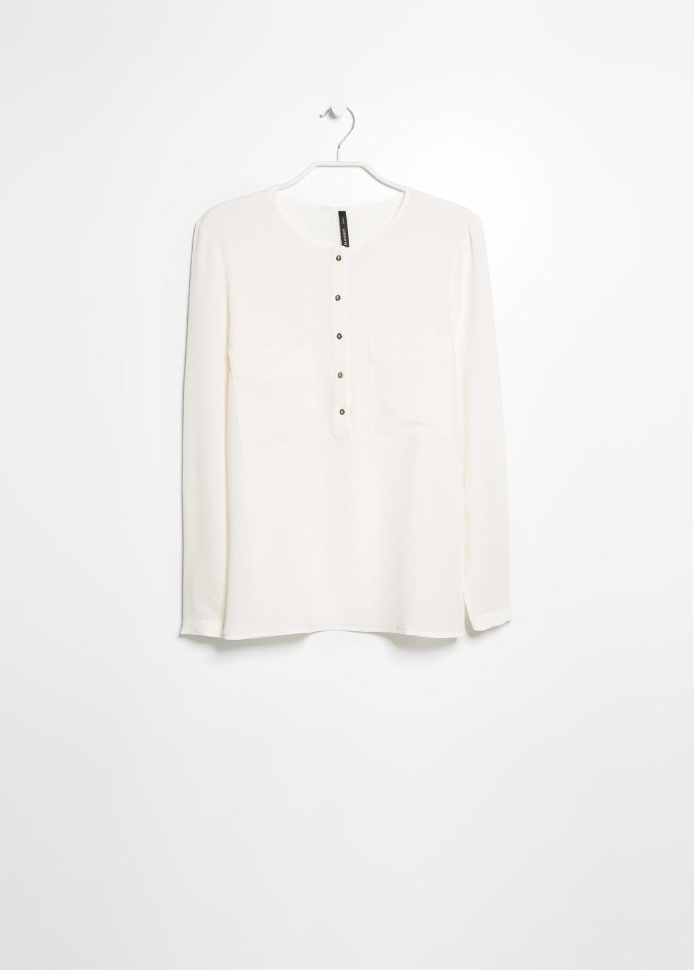 Blusa texture -  Bluse e camicie - Donna - MANGO