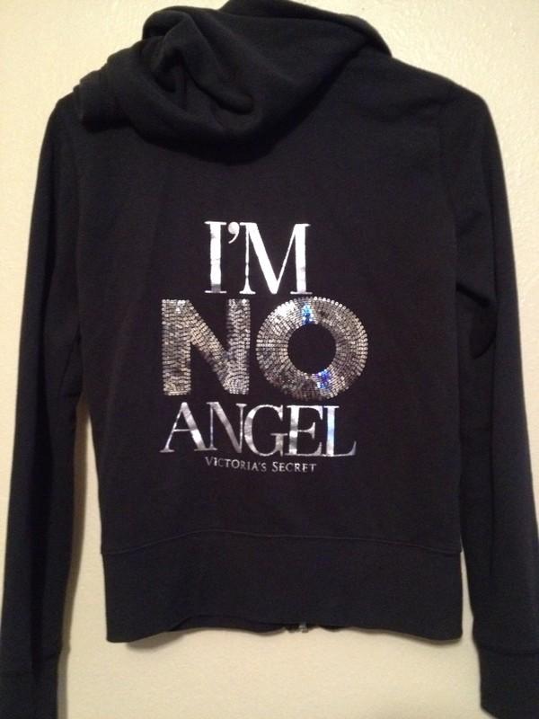 sweater victoria's secret victoria's secret model i'm no angel