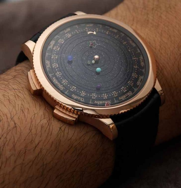 jewels watch science science astronomy nerd planets fancy clock space stars