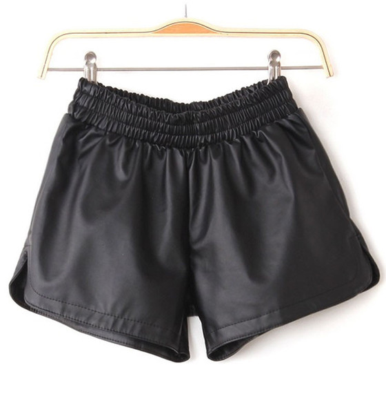 Silia Leather Shorts   Outfit Made