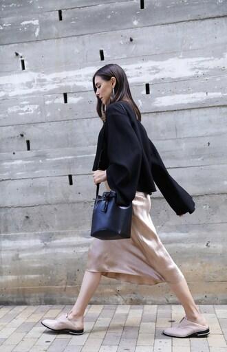 inspades blogger skirt top bag jewels shoes